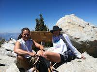 Mt. San Jacinto, CA Summit