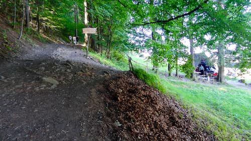 Droga Pod Reglami, near Dolina  za Bramką