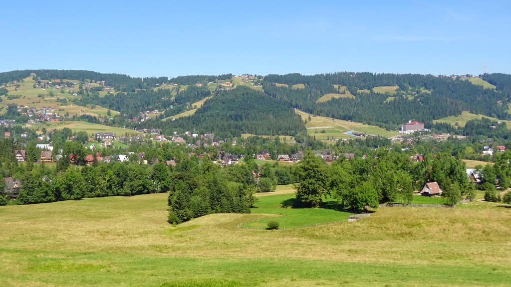Panorama near Dolina  za Bramką