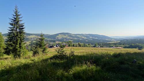 Panorama near Dolina Małej Łąki