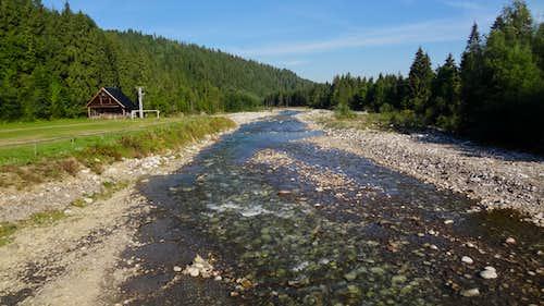 Białka river in Jurgów