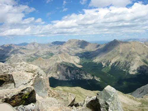 View from Yale\'s summit,...
