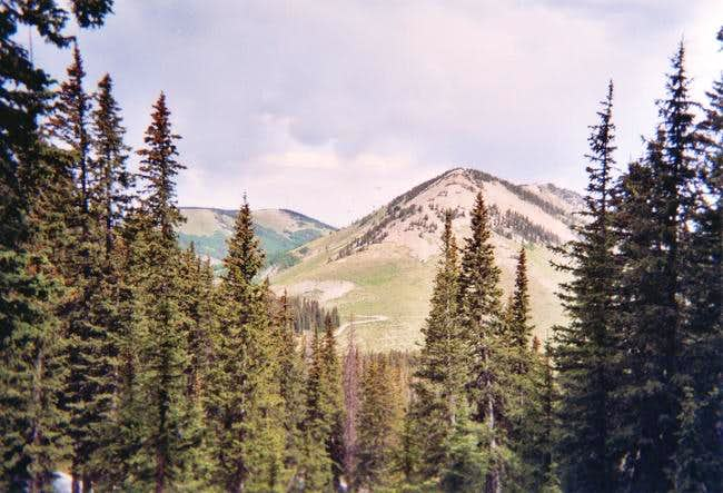 A view of Horsehead Peak.