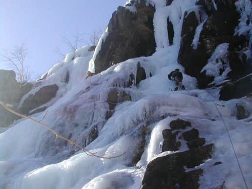 Ice Climbing in New...