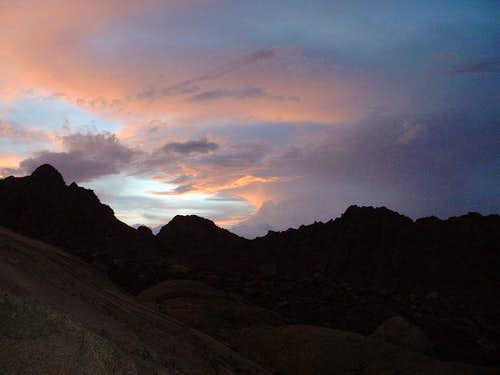 Sunset over the Palisade...