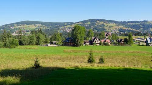 Panorama from Droga pod Reglami