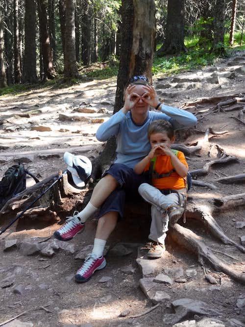 Przełęcz w Grzybowcu familly shot