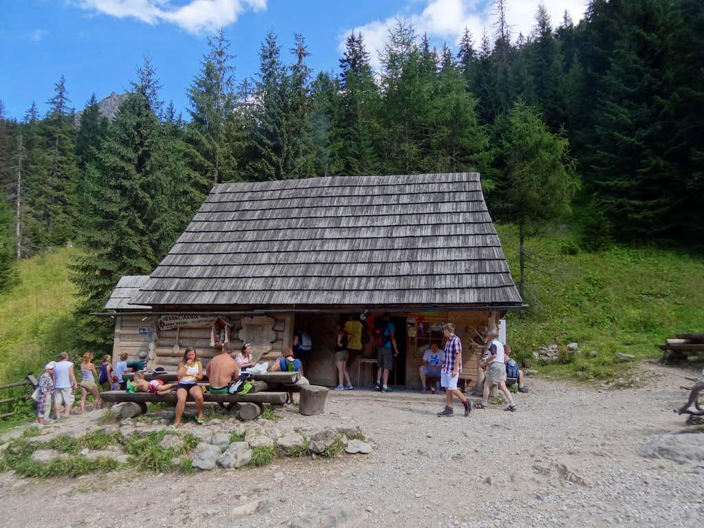 Hut in Strążycka Polana