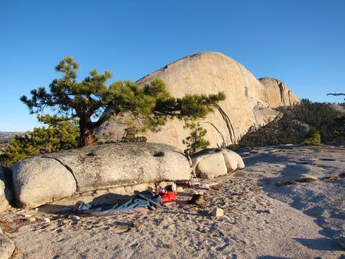 Bivy on Liberty Cap
