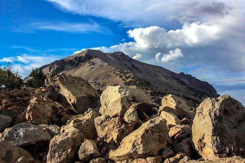 Lassen Peak from Mount Helen