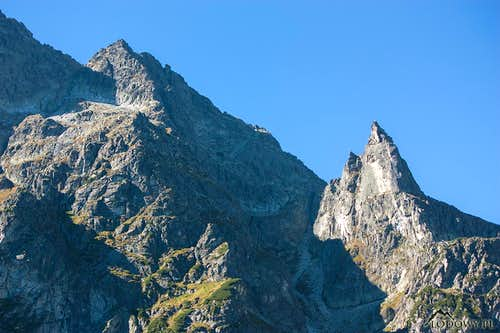 Cubryna and Mnich peaks