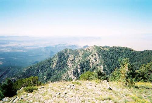 The view from the summit.