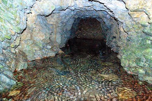 Abandoned golden mine
