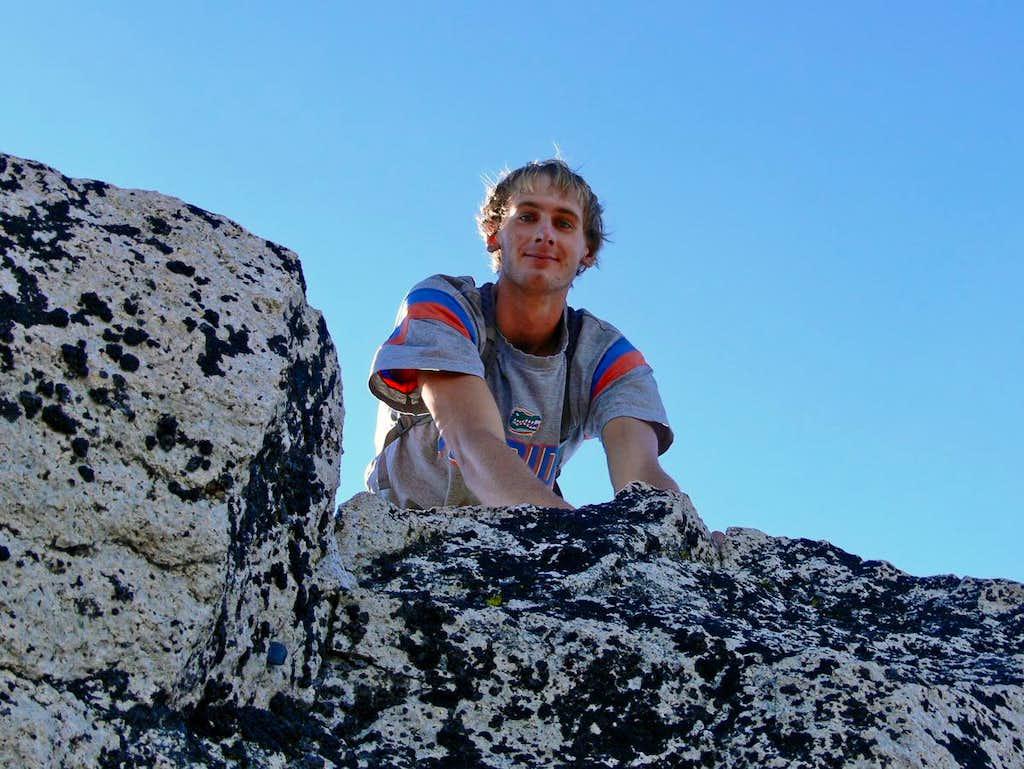 Matt Lemke on the Summit