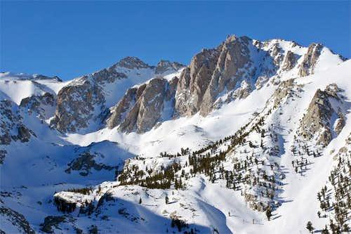 Mt. Mallory and Mt. Irvine...