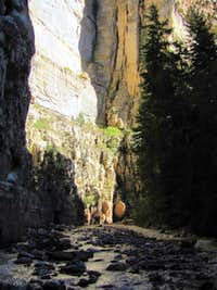 Ashdown Gorge Narrows
