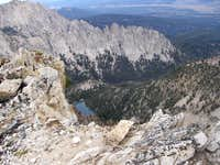 Alpine Lk from Alpine Summit
