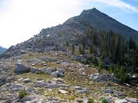 West Ridge Glens Peak