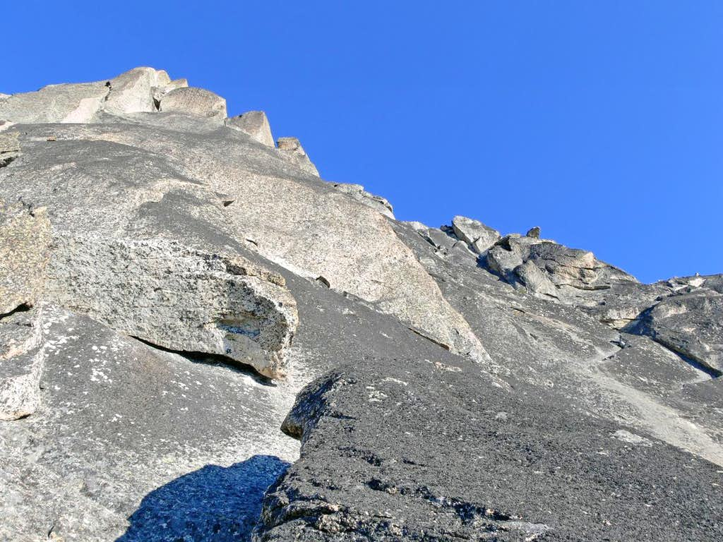 Looking at the West Ridge