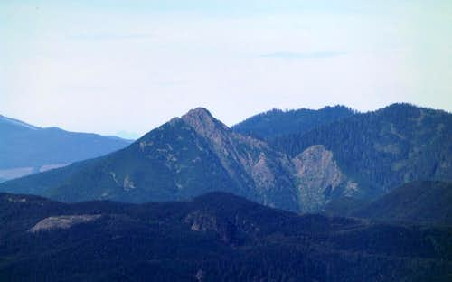 Big Deer Peak from the southeast