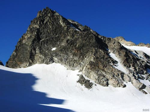 Chlein Seehorn (3032m) from the Seelücke