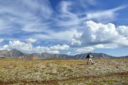 Hike along the Continental Divide