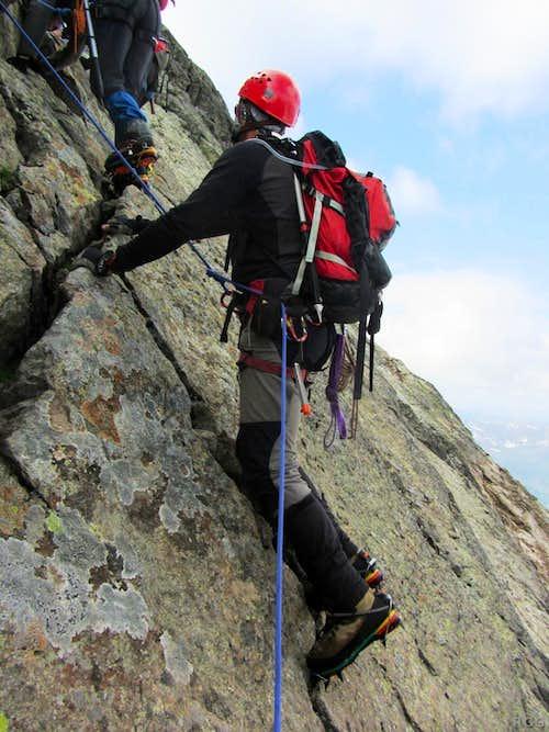 Climbing Gross Seehorn