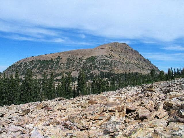 Bald Mountain as it appears...