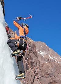 African Ice Climbing