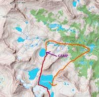 Italy Pass to Royce Lakes