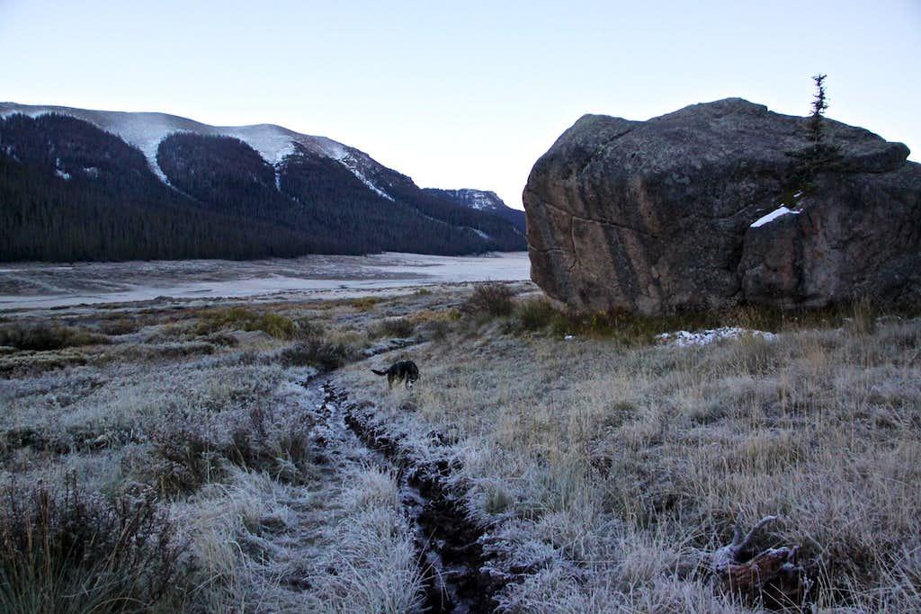 Morning along Rincon la Vaca