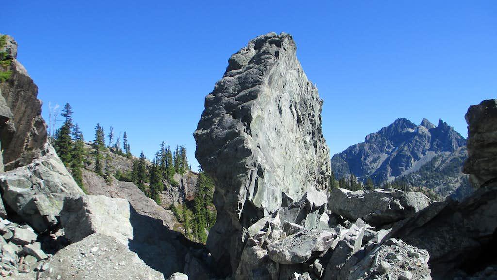 The Glacier Lake Boulderfield