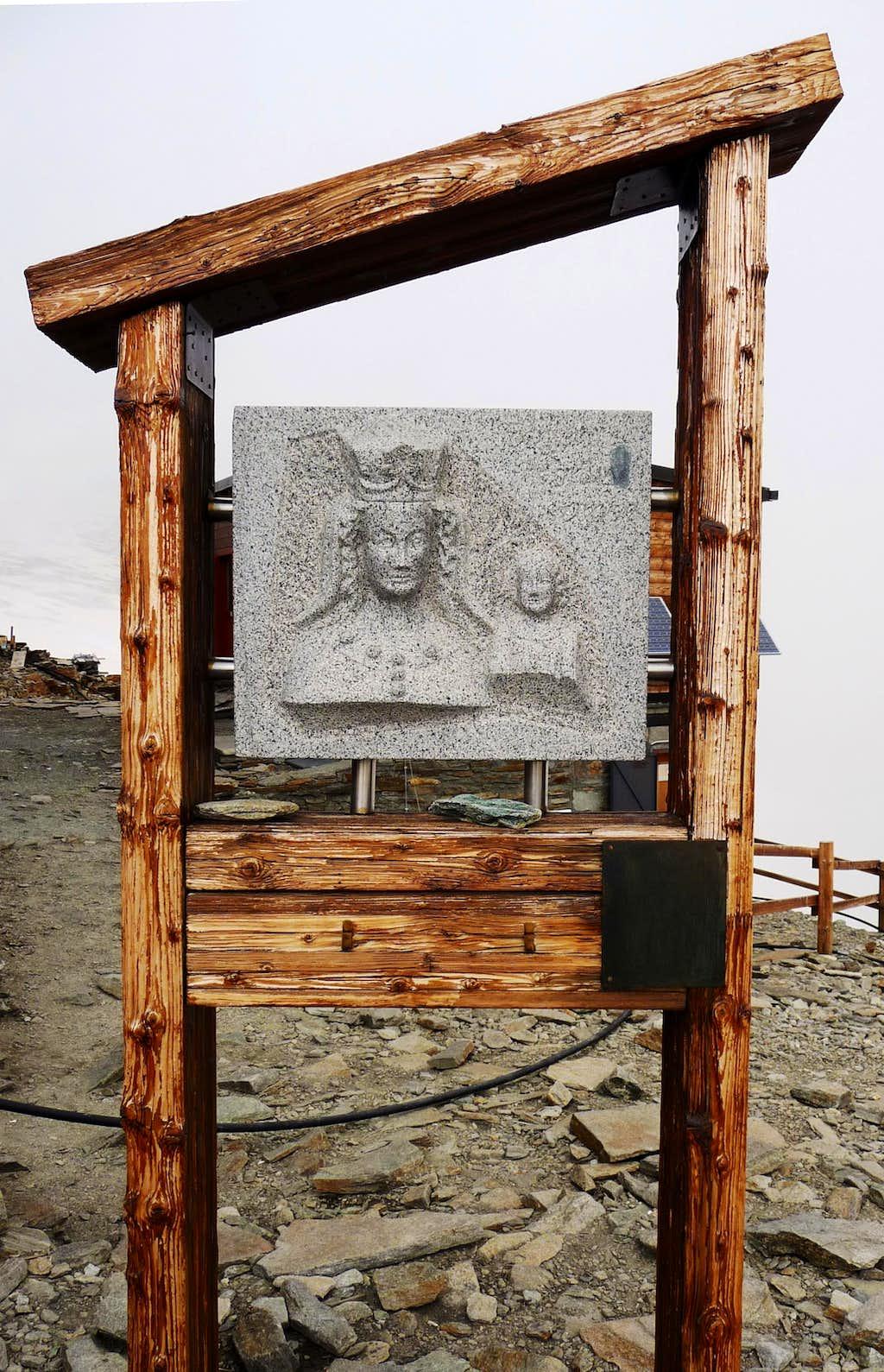 Madonna at Quintino Sella Hut