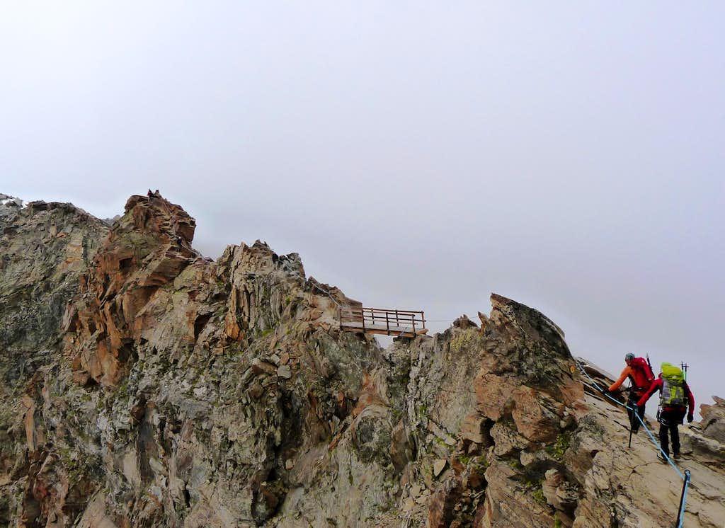 Access to Quintino Sella hut