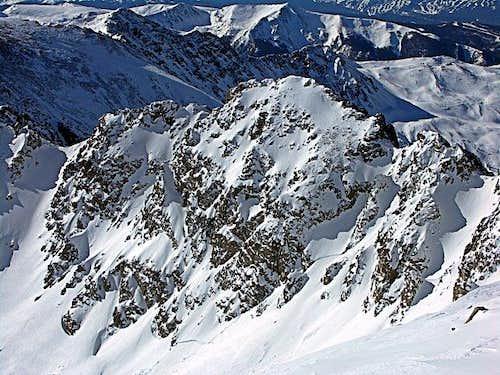 Point 13193 on the SW Ridge