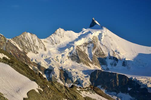 Zinalrothorn, 4221 m, seen from the north