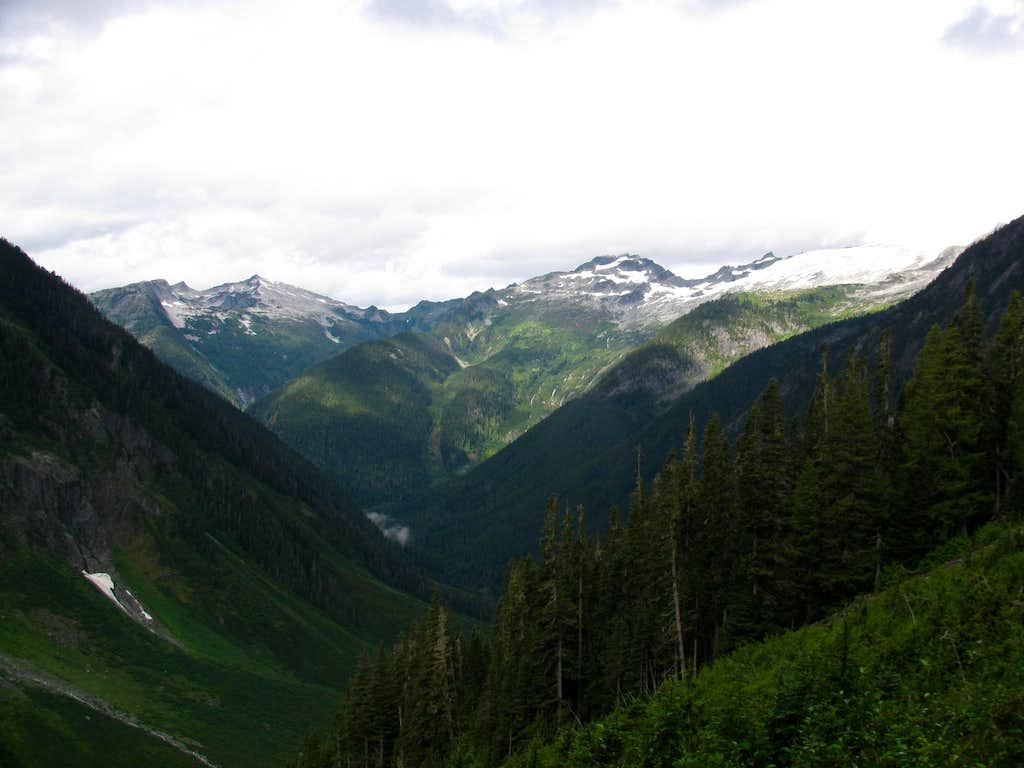 Hidden Lake Peaks and Eldorado Glacier
