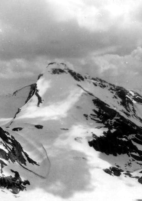 From Goletta Peak to Tsantelèina Point North Face 1976