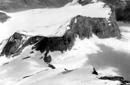 Descending on Tsantelèina North-northeast Edge 1976