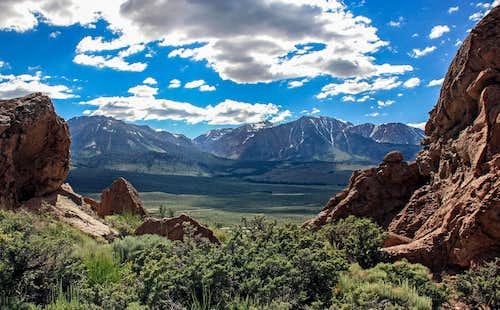 Peaks above Mono Basin