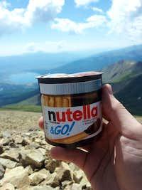 Nutella @ 14,440ft