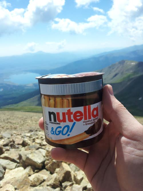 Nutella @ 14,440ft