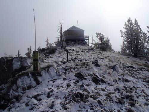 Tyee Mountain Lookout