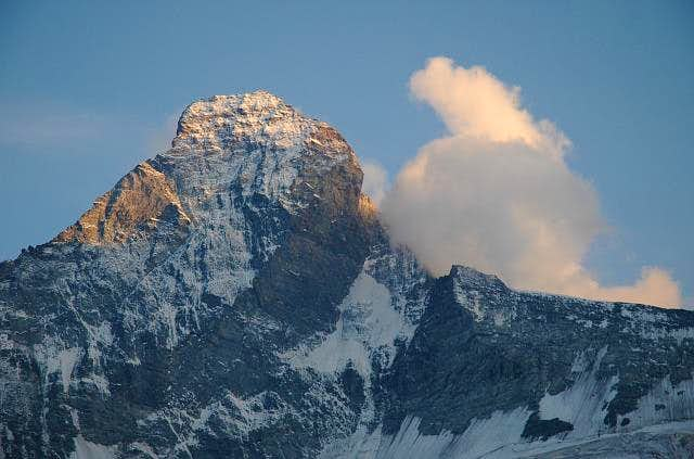 Sunset on Matterhorn. 07/2004