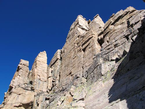 Pinnacles on Ridge