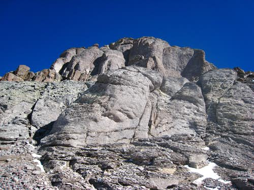 Cliffs on Teakettle Mountain