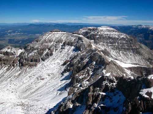 Teakettle summit view