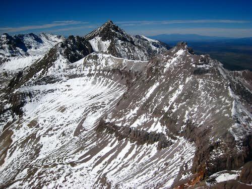 Mount Sneffels from Teakettle