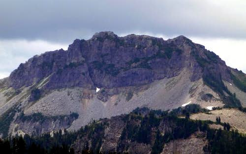 Townsend Mountain from the north (Bear Mountain)