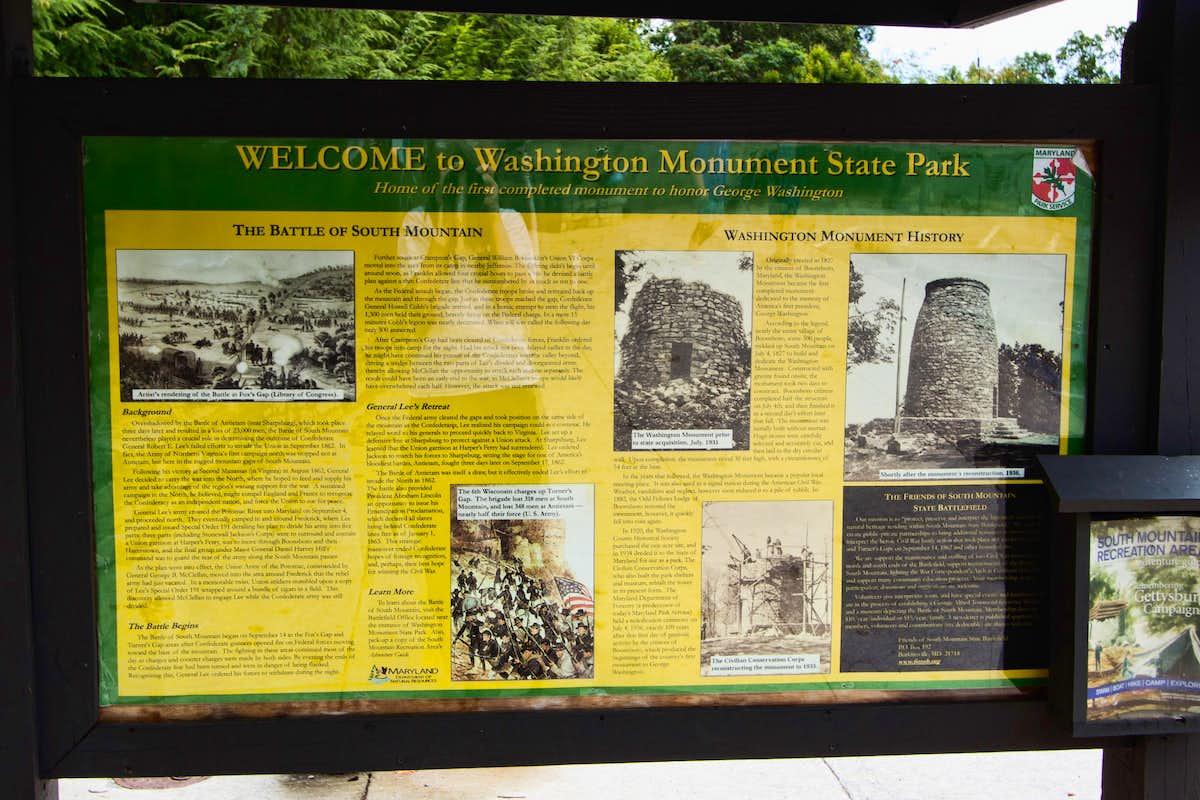 Park History Information Monument Knob Climbing